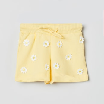 MAX Applique Detail Elasticated Shorts