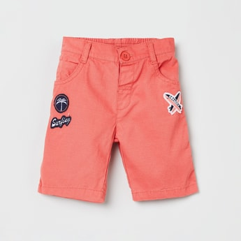 MAX Applique Detailed Shorts