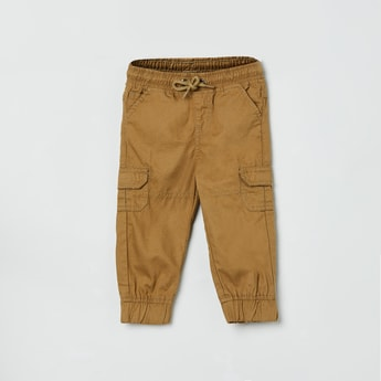MAX Solid Elasticated Cargo Joggers