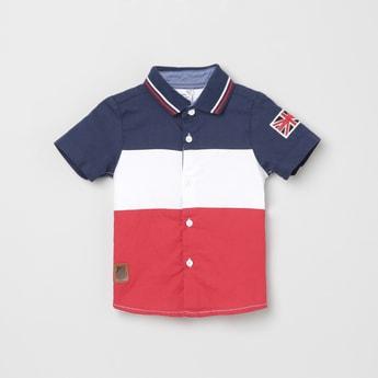 MAX Colourblocked Short Sleeves Shirt