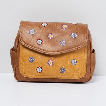 MAX Embroidered Sling Bag