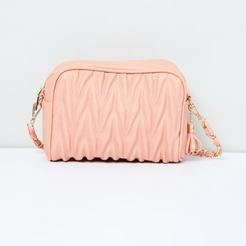 MAX Quilted Sling Bag with Detachable Strap