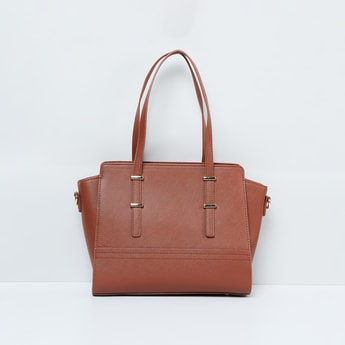 MAX Solid Handbag with Flat Handles