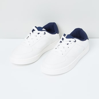 MAX Perforated Detail Lace-Up Casual Shoes
