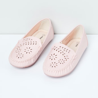 MAX Laser-Cut Loafers