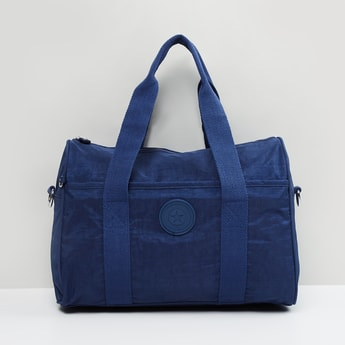 MAX Textured Duffle Bag with Applique