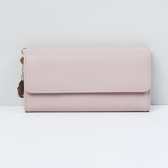 MAX Solid Bi-Fold Flap Closure Wallet