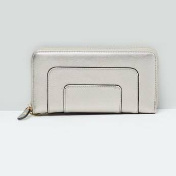 MAX Panelled Zip-Closure Wallet