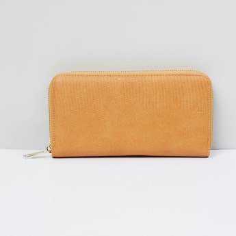 MAX Textured Zip Closure Wallet