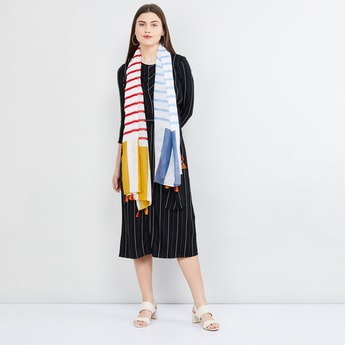 MAX Striped Scarf