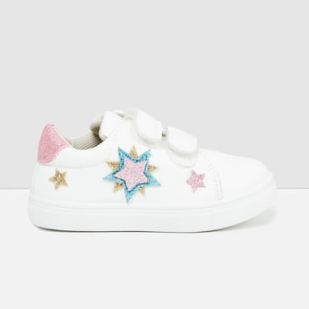 MAX Casual Shoes with Shimmery Applique