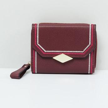 MAX Textured Tri-Fold Wallet