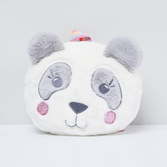 MAX Panda Backpack with Striped Handles
