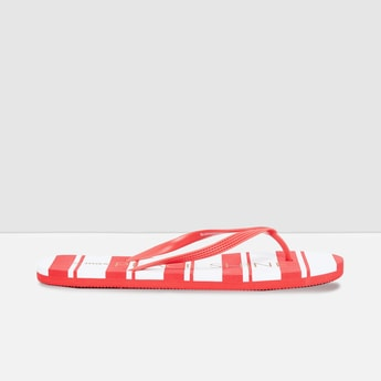 MAX Striped Slippers