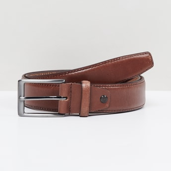 MAX Solid Casual Leather Belt