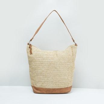 MAX Textured Tote Bag