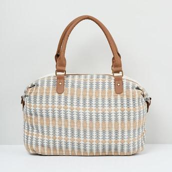 MAX Textured Zip-Closure Bowling Bag