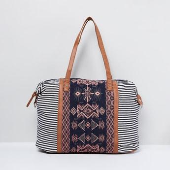 MAX Ethnic Patterned Shoulder Bag