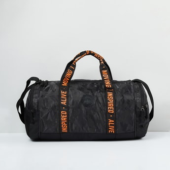 MAX Printed Duffle Bag