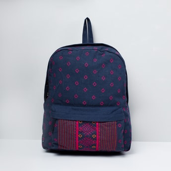 MAX Patterned Zip-Closure Backpack