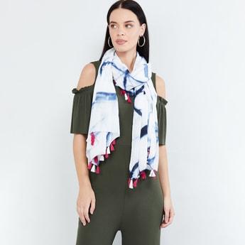 MAX Tie-Dye Print Scarf