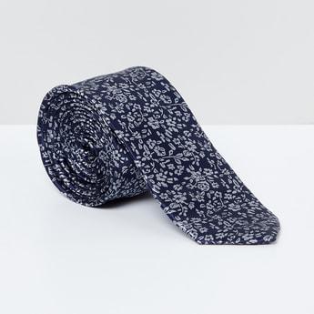 MAX Floral Print Tie