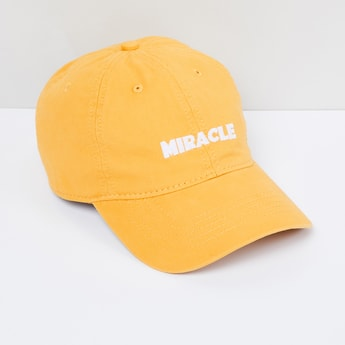MAX Typographic Embroidered Cap