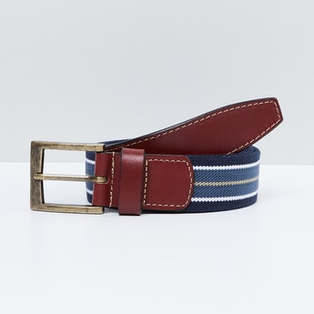 MAX Striped Casual Belt