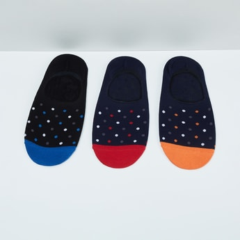 MAX Polka Dots Pattern Socks- Pack of 3