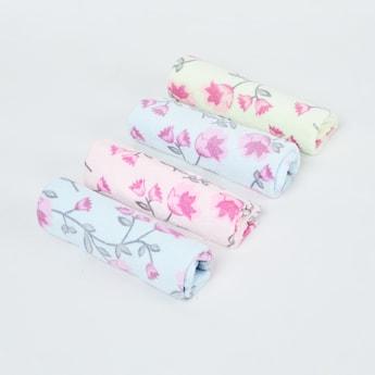MAX Floral Print Handkerchief- Set of 4