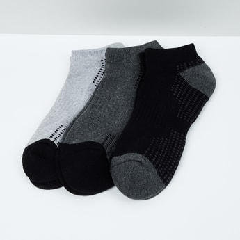 MAX Woven Design Socks - Set of 3