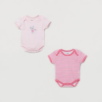 MAX Cap Sleeves Bodysuit - Set of 2