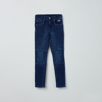 MAX Dark Washed Jeans with Darts