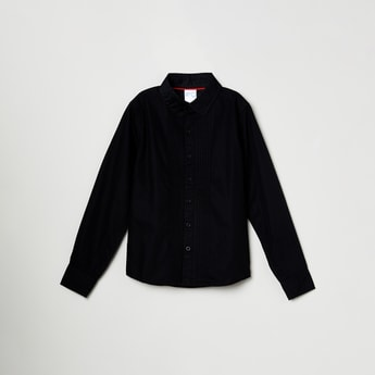 MAX Solid Full-Sleeves Shirt