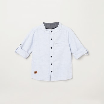 MAX Solid Regular Fit Casual Shirt