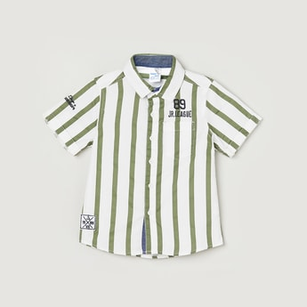 MAX Striped Half-Sleeves Shirt