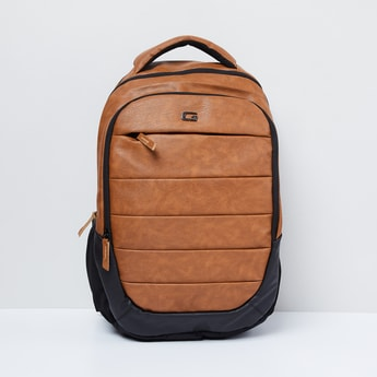 MAX Textured Laptop Backpack