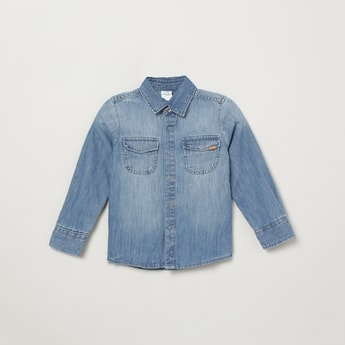 MAX Stonewashed Denim Shirt