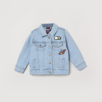 MAX Denim Jacket wiith Applique