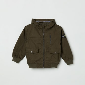 MAX Solid Full Sleeves Casual Jacket