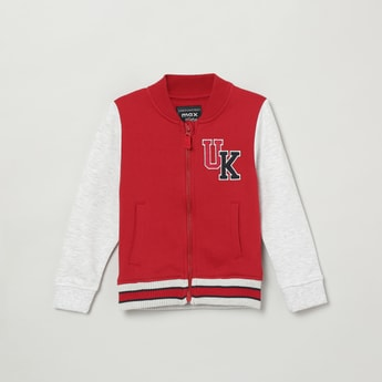 MAX Colourblocked Varsity Sweatshirt