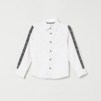 MAX Taped Detailed Full-Sleeves Shirt