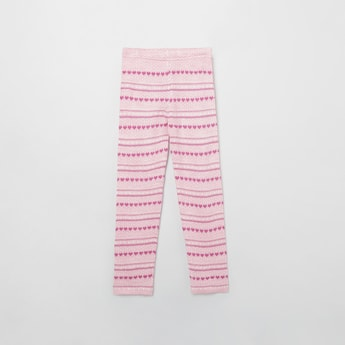 MAX Patterned Knit Trousers