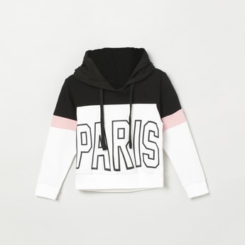 MAX Printed Hooded Sweatshirt