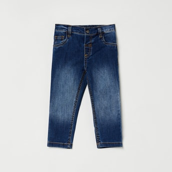 MAX Dark Washed 5-Pocket Jeans