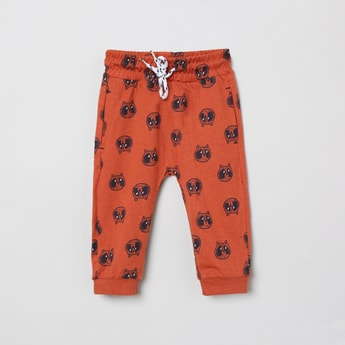 MAX Printed Joggers with Insert Pockets
