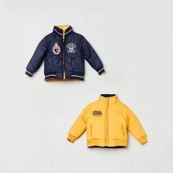 MAX Appliqued Reversible Jacket