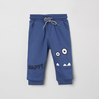 MAX Appliqued Full-Length Joggers