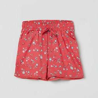 MAX Floral Print Elasticated Shorts