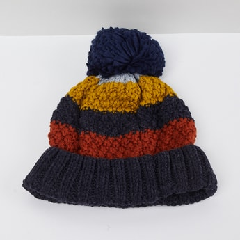 MAX Colourblocked Knitted Beanie
